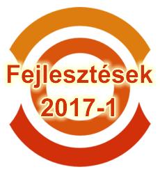 2017 első nagyobb fejlesztései